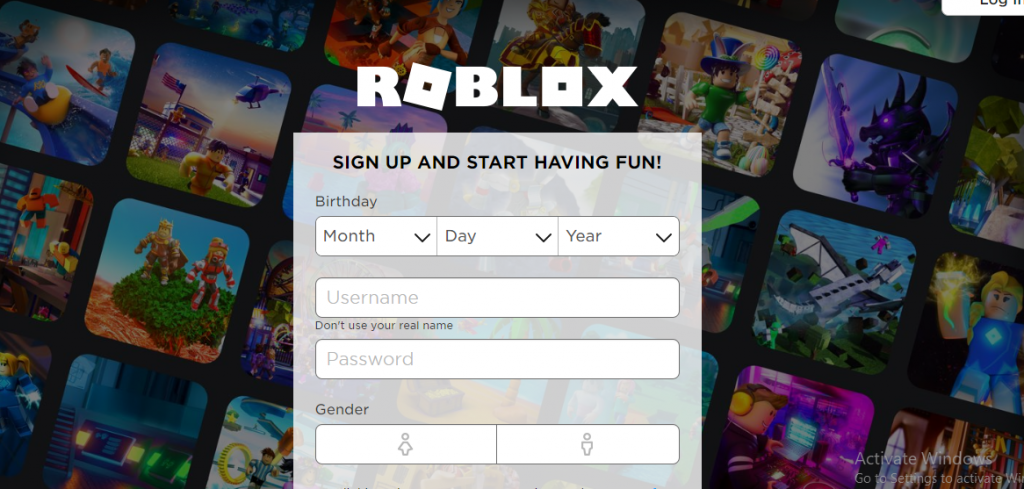 delete roblox account