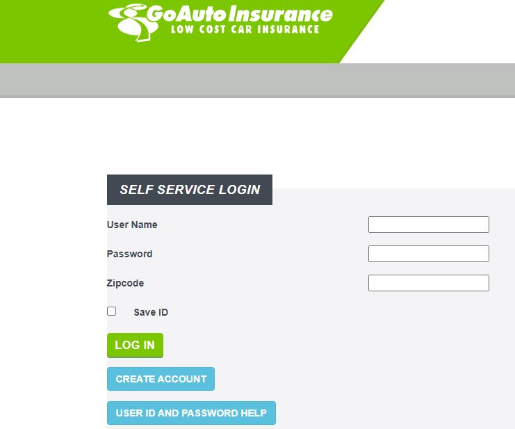 Go Auto Insurance Login Account Password Reset