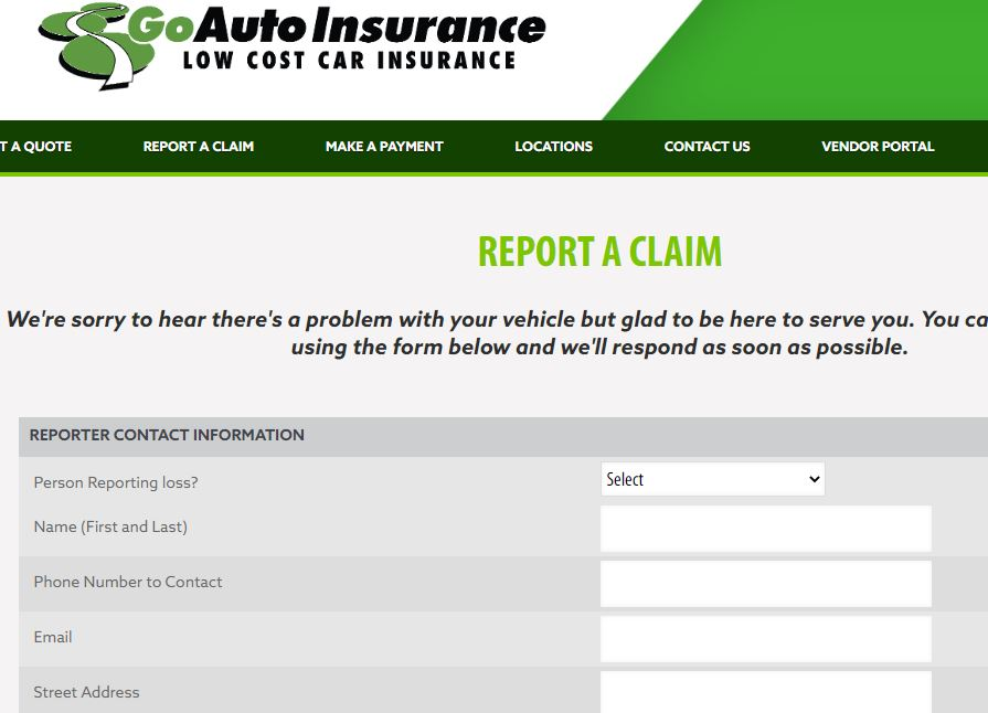 How to File a Claim Through Go Auto Insurance Login Account?