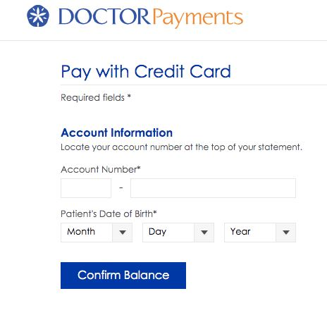 DoctorPayments Pay your Medical Bills through via Credit Card