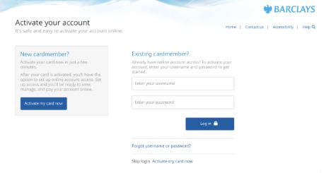 How to Activate your Barclaycardus.com Online?