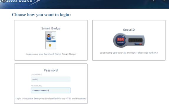 LMPeople portal Login Process