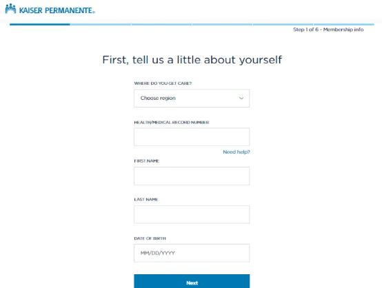 Step-by-Step My HR Kaiser Signup Procedure